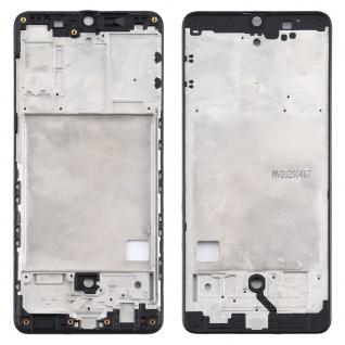 Front Housing Samsung Galaxy A41 Schwarz LCD Rahmen Gehäuse Zubehör Ersatzteil