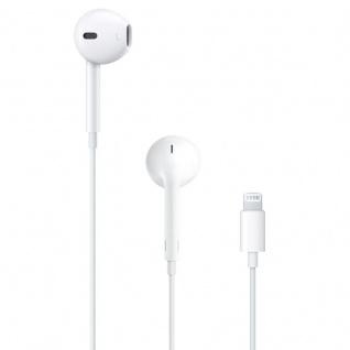 Apple MMTN2ZM/A 8Pin EarPods Fernbedienung Mikrofon Kopfhörer Headset Bulk Weiss