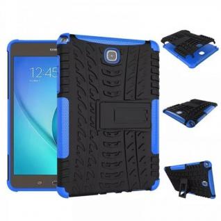 Hybrid Outdoor Schutzhülle Case Blau für Samsung Galaxy Tab A 9.7 T550 Tasche