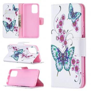 Für Xiaomi Redmi Note 10 Pro Kunst-Leder Handy Tasche Motiv 4 Hülle Case Etuis