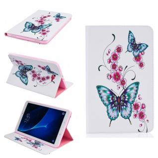 Für Samsung Galaxy Tab A 10.1 2019 T510 Motiv 35 Tasche Kunst Leder Hülle Etuis