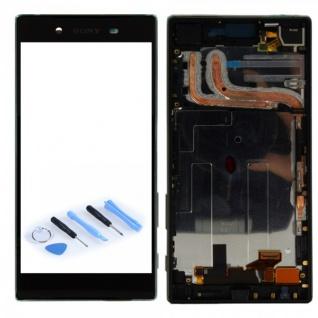 Sony Display LCD Komplett Einheit mit Rahmen für Xperia Z5 E6603 E6653 Schwarz