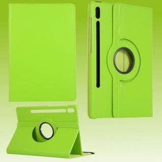 Für Samsung Galaxy Tab S7 T870 Tablet Tasche Hülle Case Etuis Schutz Grün Cover