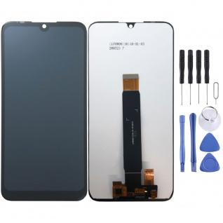 Für Motorola Moto E6 Plus Reparatur Display LCD Einheit Touch Screen Schwarz Neu