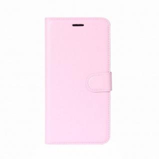 Tasche Wallet Premium Rosa für Sony Xperia XZ2 Hülle Case Cover Schutz Etui Neu - Vorschau 2