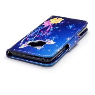 Tasche Wallet Book Muster Motiv 31 für Smartphones Schutz Hülle Case Cover Etui - Vorschau 5