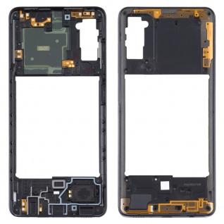 Mittelrahmen Samsung Galaxy A41 Schwarz LCD Rahmen Gehäuse Zubehör Ersatzteil