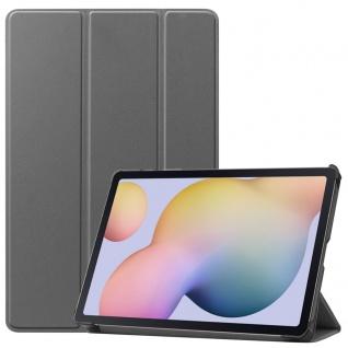 Smart Cover Grau Tasche Etui Hülle für Samsung Galaxy Tab S7 T870 / T875 2020