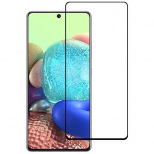 Für Samsung Galaxy A52 4G 3D Display Full LCD H9 Hart Glas Schwarz Folie Panzer