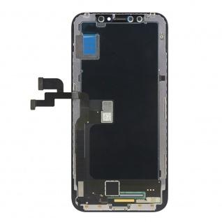 Display LCD OLED für iPhone X / 10 Schwarz Komplett Einheit Touch Ersatzteil - Vorschau 3