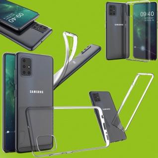 Für Samsung Galaxy A51 A515F Silikon TPU Schutz Transparent Handy Tasche Hülle