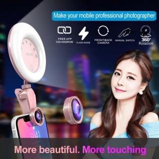 Uni. Beauty Kamera Makro 4K HD Weitwinkel Objektiv Linse für Smartphone Tablet