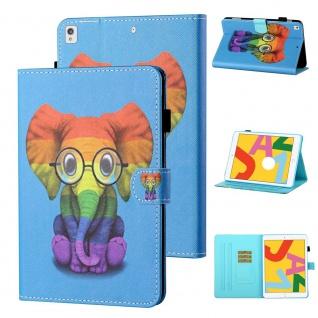 Für Apple iPad 10.2 Zoll 2019 / 2020 Motiv 82 Tablet Tasche Kunst Leder Etuis