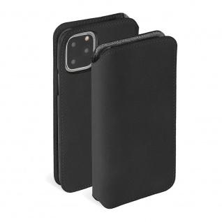 Krusell Sunne Wallet für Apple iPhone 11 Pro Schwarz Tasche Schutz Hülle Case