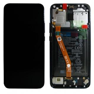 Huawei Display LCD Rahmen für Mate 20 Lite Service Pack 02352DKK Blau Batterie