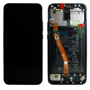 Huawei Display LCD Rahmen für Mate 20 Lite Service Pack 02352DKM Blau Batterie