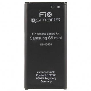 FIX4Smarts Akku für Samsung Galaxy S5 Mini G800F ersetzt EB-BG800BBE Batterie