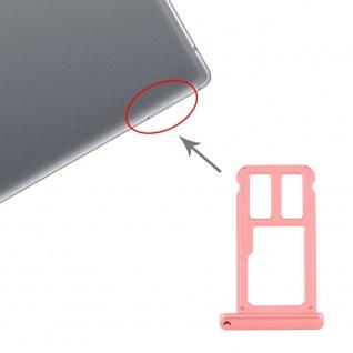 Für Huawei MediaPad M5 8 WIFI Version SD Speicher Karten Halter Rot Ersatzteil