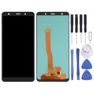 Für Samsung Galaxy A7 2018 OLED Display Einheit Touch Ersatzteil Schwarz Neu