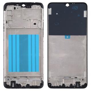 Front Housing Samsung Galaxy A20s Schwarz LCD Rahmen Gehäuse Zubehör Ersatzteil