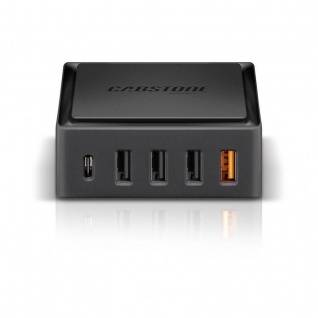 Quick Charge 5x USB Schnellladegerät Ladegerät Lader 8 A für Smartphones Tablets