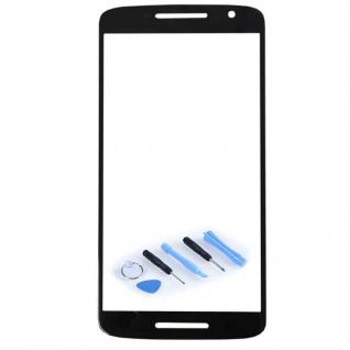 Display Glas Schwarz für Motorola Moto X Play 3rd gen XT1562 XT1563 Reparatur