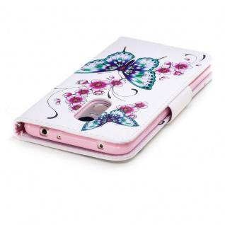 Für Huawei P20 Kunstleder Tasche Book Motiv 31 Schutz Hülle Case Cover Etui Neu - Vorschau 5