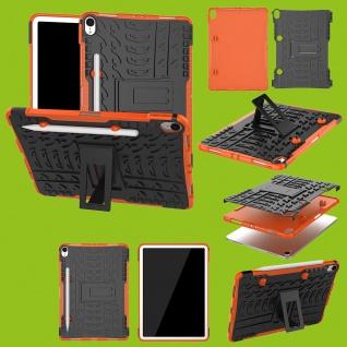 Für Apple iPad Pro 11.0 Zoll 2018 Hybrid Outdoor Case Orange Tasche Cover Hülle