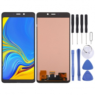 Für Samsung Galaxy A9 2018 A920F Display Full LCD Touch Screen Reparatur Schwarz