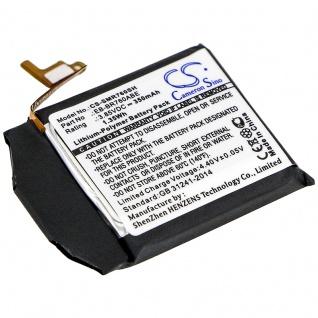 Akku Batterie Battery für Samsung Gear S3 Classic ersetzt EB-BR760 Ersatzakku