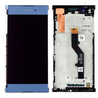 Sony Display LCD Komplett für Xperia XA1 Plus 78PB6100030 Reparatur Blau Ersatz