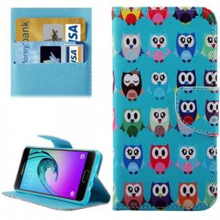 Schutzhülle Muster 78 für Samsung Galaxy A5 2016 A510F Tasche Cover Case Hülle