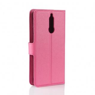 Tasche Wallet Premium Pink für Huawei Mate 10 Lite Hülle Case Cover Etui Schutz - Vorschau 3
