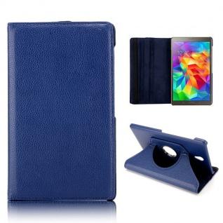 Schutzhülle 360 Grad Blau Tasche für Samsung Galaxy Tab S T700 Hülle Zubehör