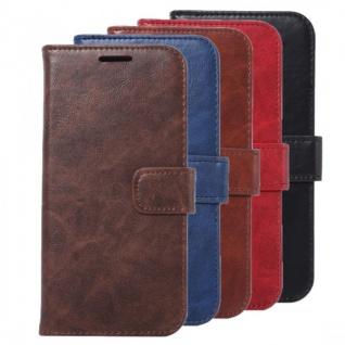 Schutzhülle Bookcover Tasche Hülle Wallet Case für Samsung Galaxy Cover Premium