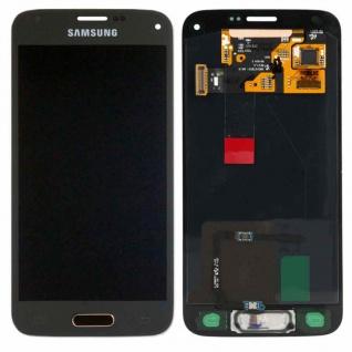 Full Display LCD Komplettset GH97-16147D Gold für Samsung Galaxy S5 Mini G800F