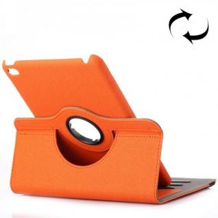 Deluxe Schutzhülle 360 Grad Orange Tasche für Apple iPad Mini 4 7.9 Zoll Hülle