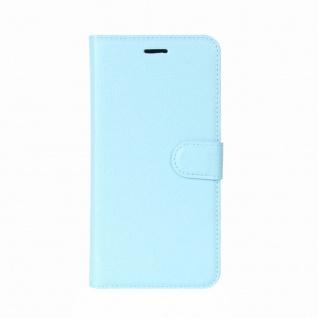 Tasche Wallet Premium Blau für Sony Xperia XZ2 Hülle Case Cover Schutz Etui Neu - Vorschau 2