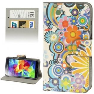 Bookcover Wallet Muster für Samsung Galaxy Tasche Hülle Case Etui Cover Schutz - Vorschau 2