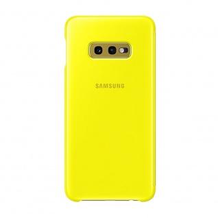 Samsung Flip Tasche Clear View EF-ZG970CYEGWW für Galaxy S10e G970F Cover Gelb - Vorschau 2