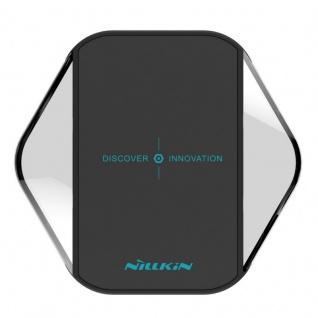 Universal Induktive Wireless Ladestation kabelloses Laden Qi NFC Dock Schwarz