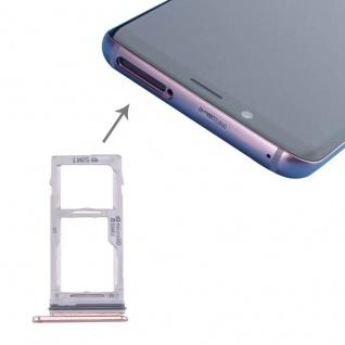 Für Samsung Galaxy S9 G960 / S9 Plus G965 Simkarten Halter Sim Tray SD Card Pink
