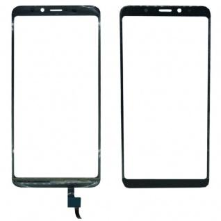 Reparatur Displayglas Touch Screen für Wiko View XL LCD Schwarz Ersatz Scheibe