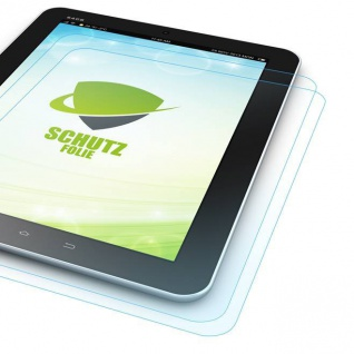 2x Displayschutzfolie für Samsung Galaxy Tab A 10.1 T580 T585 + Poliertuch Hülle
