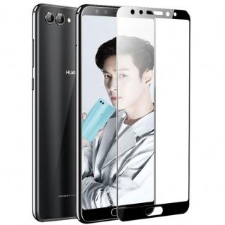 Premium 0, 3 mm H9 Panzerglas Schwarz Folie für Huawei Nova 2S Schutz Hülle Neu
