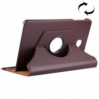 Schutzhülle 360 Grad Braun Tasche für Samsung Galaxy Tab A 10.1 T580 / T585 Case