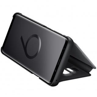 Samsung Flip Tasche Clear View EF-ZG973CBEGWW für Galaxy S10 G973F Cover Schwarz - Vorschau 3