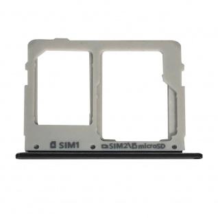Sim Karten Halter für Samsung Galaxy Tab S5e T720 10.5 Schwarz Card Tray Ersatz