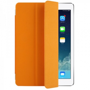 Smart Cover Orange für Apple iPad Air 2 Hülle Case Tasche Schutz Etui Zubehör Neu