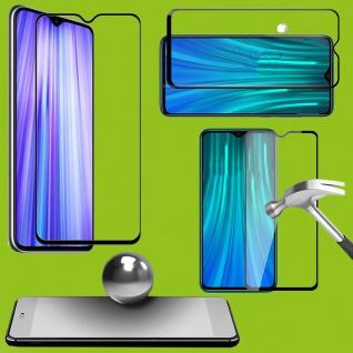 Für Xiaomi Mi 9 Lite 2x 9D Display 0, 3 H9 Hart Glas Schwarz Schutz Folie Panzer